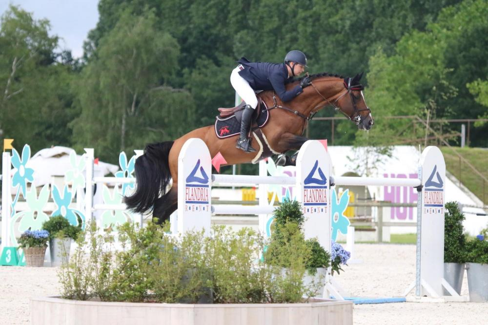 Christoph Verheyen was de beste in de V.O.R. GP in Lier | Horseman